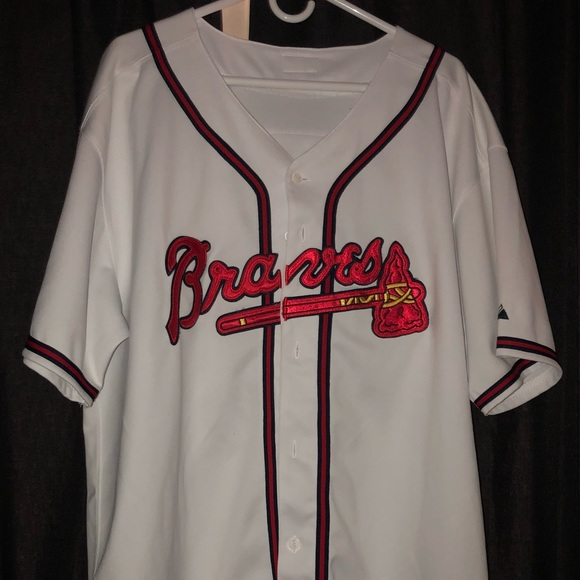 super popular b2527 b7c8a Chipper Jones Jersey